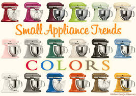 small appliance trends spicing up kitchens with color u0026 style
