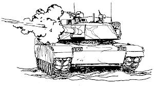 2 04a m 1 tank firing