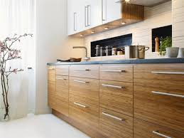 Bamboo Cabinets Kitchen Contemporary Bright Bamboo Kitchen Furniture Kitchens