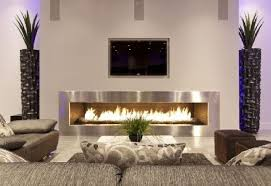 Short Tables Living Room by Modern Living Room Design With Silver Fireplace And White Interior