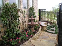 Tiered Backyard Landscaping Ideas Side Yard Landscaping Ideas Landscape Traditional With Landscape
