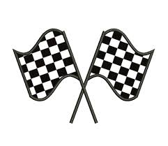 Checker Flag Crossed Checkered Flags Clip Art 23