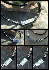 Mens Personalized Necklace Ar Creations
