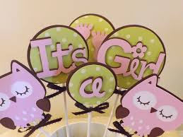 baby shower cake decorations for a baby shower its a owl