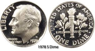 1978 dime error 1978 s roosevelt dime value