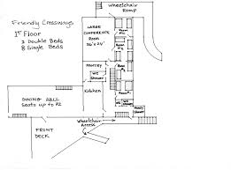 maps friendly crossways groundfloor 2nd fl 3rd floor loft