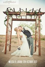wedding arches diy m j chic diy ladder shaped wooden arch for ranch wedding timbo