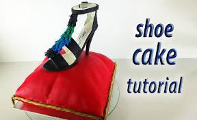 stiletto shoe cake tutorial fondant pillow cake how to cook that
