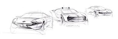 lamborghini sketch easy vw e volution davide varenna car design photography illustration