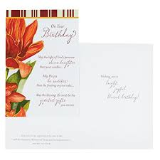 dayspring birthday boxed greeting cards w embossed envelopes