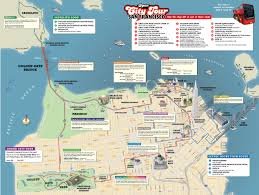 San Francisco Bus Map by San Francisco Hop On Hop Off Tour In San Francisco Usa Lonely