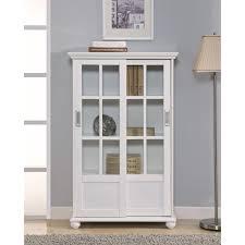 ikea billy bookcase glass doors bookshelf with glass doors decofurnish