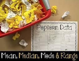 28 best mean median mode u0026 range images on pinterest teaching