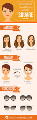 10 hairstyles for square faces square faces squares and face