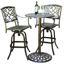 Bar Height Patio Furniture Sets Balcony Height Patio Dining Furniture Set Balcony Height Outdoor