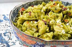 tortellini pesto pasta salad serena bakes simply from scratch