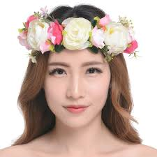 flower hairband 171 best crowns images on crowns carnivals and costumes