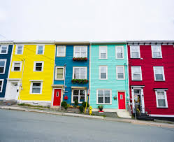 Row Houses by The Value Of Color
