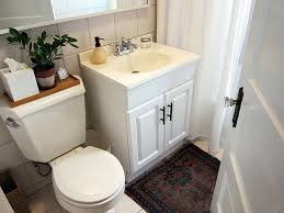 Bathroom Sink Makeover - apartment bathroom makeover before after a bold but budget