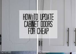 Kitchen Cabinet Doors How To Update Kitchen Cabinets Without Replacing Them Twofeetfirst