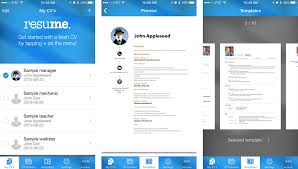 Good Resume Builder Resume Tips How To Create A Resume On Your Iphone