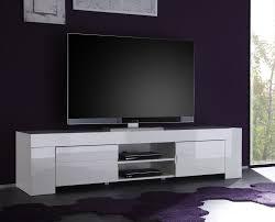 meuble tv pour chambre meuble tv hifi design laqué blanc judy meuble tv design meuble