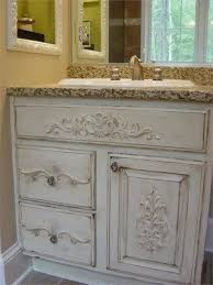 How To Paint A Bathroom Cabinet by Best 25 Vanity Redo Ideas On Pinterest Paint Vanity Builder
