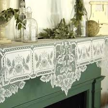 mantle scarf lace curtain store