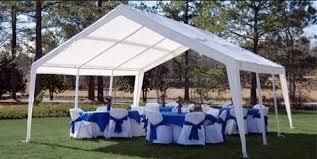 renting a tent 12 x 20 standard tent