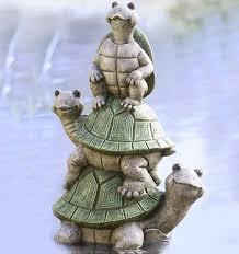 wind weather tower of turtles yard statue reviews wayfair