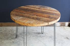 36 round cafe table 36 round antique barnwood coffee table with hairpin legs mt hood