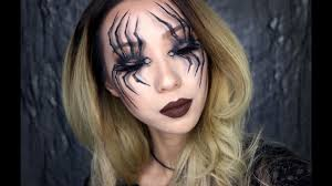 spider eyes halloween makeup tutorial 2016 youtube