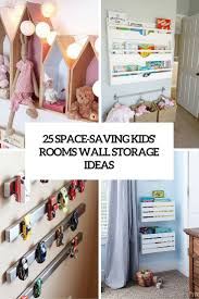 SpaceSaving Kids Rooms Wall Storage Ideas Shelterness - Storage kids rooms