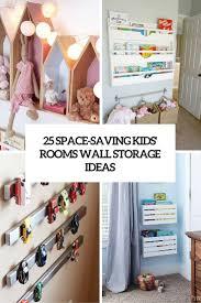 25 space saving kids u0027 rooms wall storage ideas shelterness