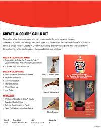 amazon com red devil inc 4074 create a color caulk kit home