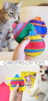 felt catnip ornaments kitty christmas gifts dream a little bigger