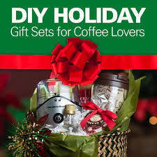 food gift sets diy how to make gift sets for coffee