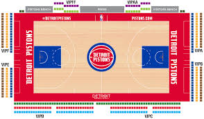 United Center Seating Map Pistons Premium Experience