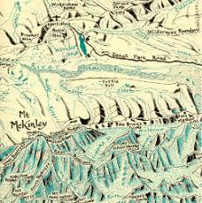 denali national park map denali national park and nenana river map cloudburst productions