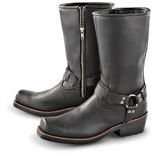 mens brown motorcycle boots men u0027s durango boot side zip harness boots black 152475
