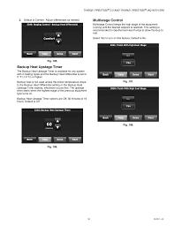 Prestige Iaq 2 0 Comfort System Backup Heat Upstage Timer Multistage Control Honeywell Prestige