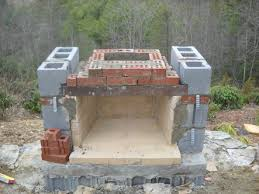 Outdoor Cinder Block Fireplace Plans - stoneblog living stone masonry