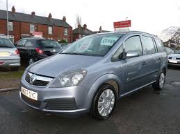 Second Hand Vauxhall Zafira 1 6i Life 5dr For Sale In Leeds West