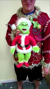 grinch christmas sweater talking light up grinch christmas sweater mens xlt for sale