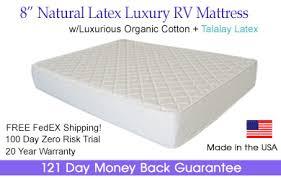 rv latex mattress latex rv mattress natural latex rv mattress