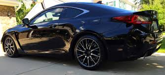 lexus rc f stance swift springs installed clublexus lexus forum discussion