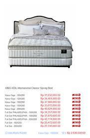 King Koil Bamboo Comfort Classic Harga King Koil Spring Bed Harga Spring Bed Termurah Di Indonesia
