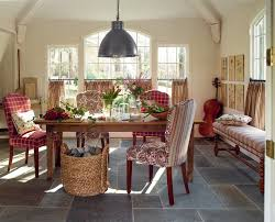 rustic buffet table dining room traditional with none