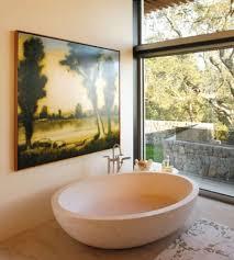 contemporary and charming master suite bathroom interior design of