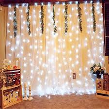 wedding backdrop with lights weddings backdrop curtains with lights